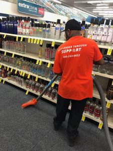 Commercial Restoration Job at CVS