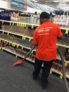 Commercial Restoration Job at CVS
